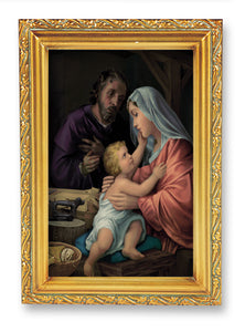 "4.5""X6.5"" FRAMED HOLY FAMILY - 461-363 - Catholic Book & Gift Store"