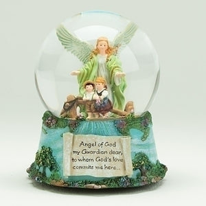 "5.5"" MUSICAL WATER GLOBE - 46324 - Catholic Book & Gift Store"