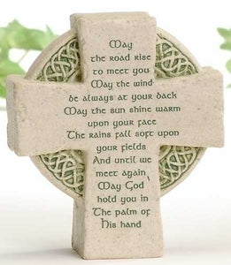 "3.5"" CELCTIC CROSS/MAY THE ROAD RISE - 47267 - Catholic Book & Gift Store"