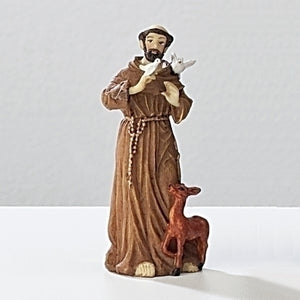 "3.5"" ST.FRANCIS FIGURE - 50272 - Catholic Book & Gift Store"