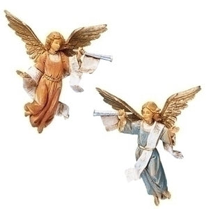 "FONTANINI/2PC 5"" TRUMPETING ANGELS - 51503 - Catholic Book & Gift Store"