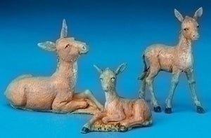 "5"" DONKEY FAMILY - 51533 - Catholic Book & Gift Store"