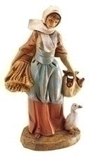 "FONTANINI/5"" HANNAH VILLAGER - 52567 - Catholic Book & Gift Store"