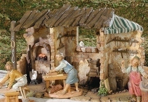 "FONTANINI/5"" ORION VILLAGER - 52586 - Catholic Book & Gift Store"