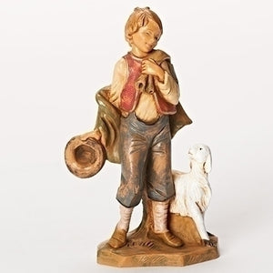 "5"" LUCAS, LITTLE BOY SHEPHERD - 54074 - Catholic Book & Gift Store"