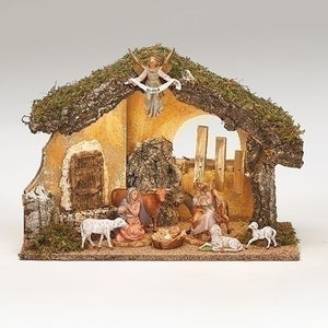 "5"" SCALE FONTANINI NATIVITY SET"