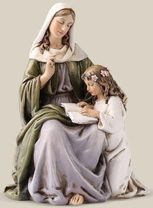 "6"" ST ANNE FIGURE - 60681 - Catholic Book & Gift Store"