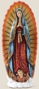 "6"" OUR LADY OF GUADALUPE FIGURE - 60687 - Catholic Book & Gift Store"
