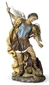 "15.5"" ST MICHAEL FIGURE - 61024 - Catholic Book & Gift Store"