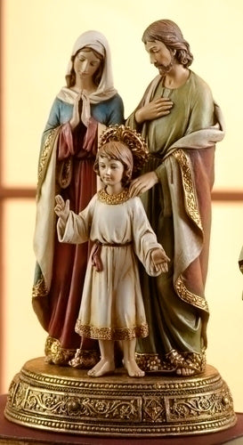 HOLY FAMILY ON STAND W/ DRAWER - 61289 - Catholic Book & Gift Store