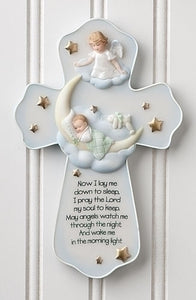 "7.25"" SWEET DREAMS WALL CROSS - 62124 - Catholic Book & Gift Store"