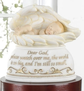 "6"" NIGHTLIGHT BABY IN WINGS - 63155 - Catholic Book & Gift Store"
