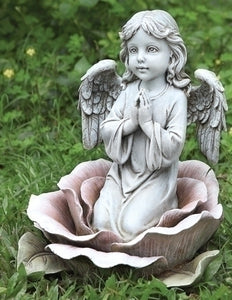 "11"" ANGEL IN THE ROSE - 64555 - Catholic Book & Gift Store"