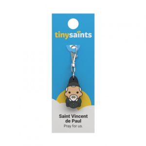SAINT VINCENT DE PAUL TINY SAINTS CHARM