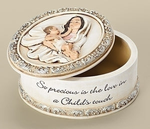 "2"" A CHILD'S TOUCH KEEPSAKE BOX - 66463 - Catholic Book & Gift Store"