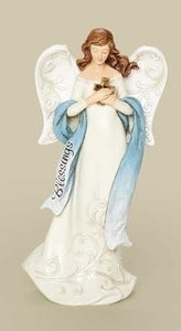 "7.5"" BLESSINGS ANGEL FIGURE - 66783 - Catholic Book & Gift Store"