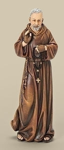 "6"" ST. PADRE PIO FIGURE - 66899 - Catholic Book & Gift Store"