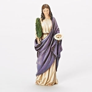 "6"" ST. LUCY FIGURE - 66958 - Catholic Book & Gift Store"