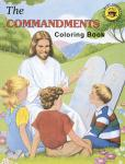 COMMANDMENTS COLORING BOOK - 688 - Catholic Book & Gift Store
