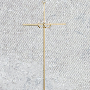 "8"" CANA CROSS/GOLD - 71-44801"