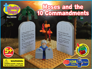 TRINITY TOYZ BUILDING BLOCKS: MOSES AND THE TEN COMMANDMENTS