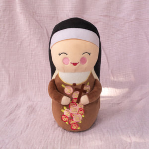 "10"" ST THERESE OF LISIEUX PLUSH DOLL"