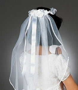 BOW W/ WREATH COMMUNION VEIL - 92024 - Catholic Book & Gift Store
