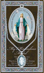 MY MIRACULOUS MEDAL/CARDED - 950-253 - Catholic Book & Gift Store