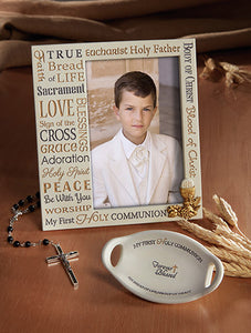FIRST COMMUNION PHOTO FRAME/FOREVER BLESSED - B2392 - Catholic Book & Gift Store