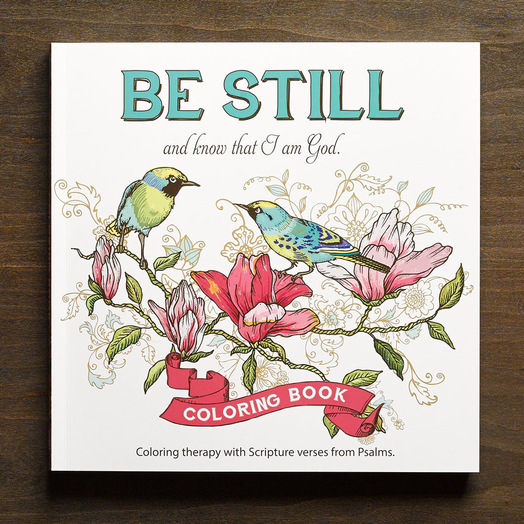 COLORING BOOK W/SCRIPTURE VERSES FROM PSALMS - CLR004 - Catholic Book & Gift Store