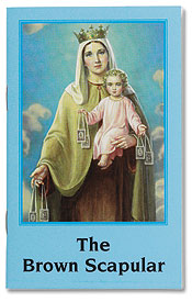 BROWN SCAPULAR BOOK - GS112 - Catholic Book & Gift Store