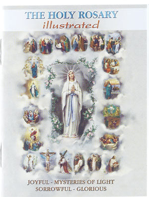 HOLY ROSARY BOOKLET/ILLUSTRATED - HR-01 - Catholic Book & Gift Store
