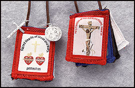 FIVE FOLD SCAPULAR - KD128 - Catholic Book & Gift Store