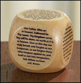 PRAYER CUBE/ORIGINAL PRAYERS - KD196 - Catholic Book & Gift Store