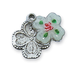 STERLING SILVER 4-WAY CLOISONNE - L4LCS - Catholic Book & Gift Store