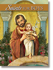 SAINTS FOR BOYS - NC637 - Catholic Book & Gift Store