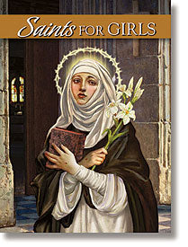 SAINTS FOR GIRLS - NC638 - Catholic Book & Gift Store