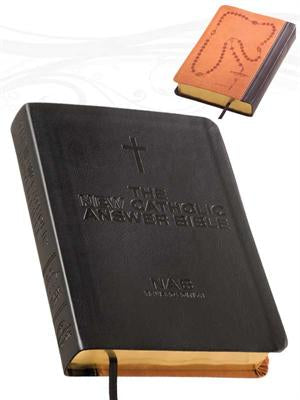 NEW CATHOLIC ANSWER BIBLE/LIBROSARIO/NABRE - 4039 - Catholic Book & Gift Store