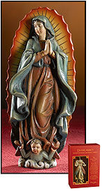 "4"" OUR LADY OF GUADALUPE FIGURE - PC944 - Catholic Book & Gift Store"