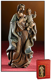 "4"" ST JOSEPH AND CHILD FIGURE - PC948 - Catholic Book & Gift Store"