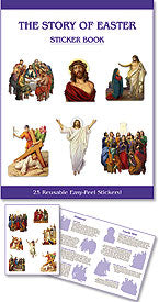 STORY OF EASTER/STICKER BOOK - PS066 - Catholic Book & Gift Store