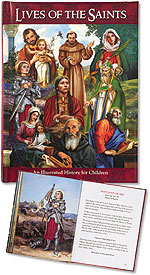 LIVES OF THE SAINTS/HARDCOVER - RS887 - Catholic Book & Gift Store