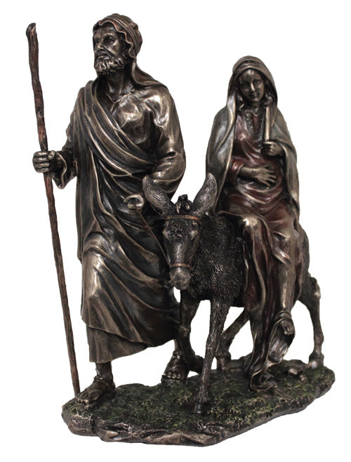 LA POSADA BRONZE FIGURE - JOURNEY TO BETHLEHEM