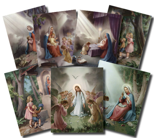 8X10 HAIL MARY PRINTS - POS-1472