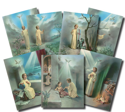 8X10 GIFTS OF THE HOLY SPIRIT POSTER SET - POS-1476
