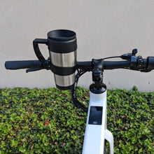 Bar-ista coffee mug holder on a Flash v1 bike