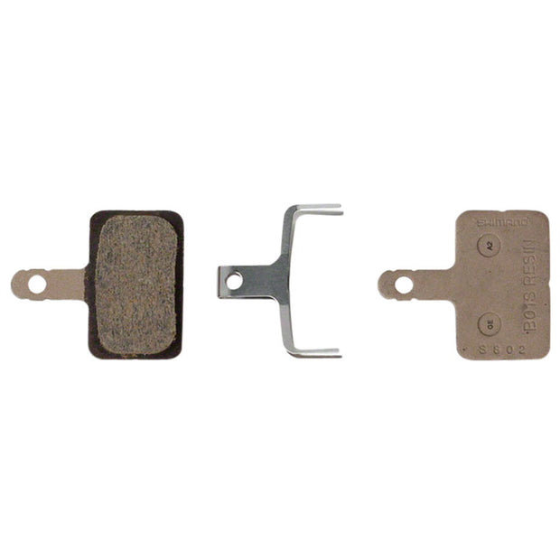 Shimano Resin Disc Brake Pad and Spring Set (Pair)