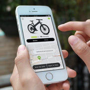 Check bike location and status with the Flash app
