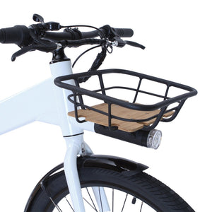 Integrated front cargo basket for Flash