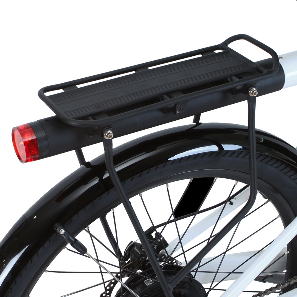 Integrated rear rack for Flash
